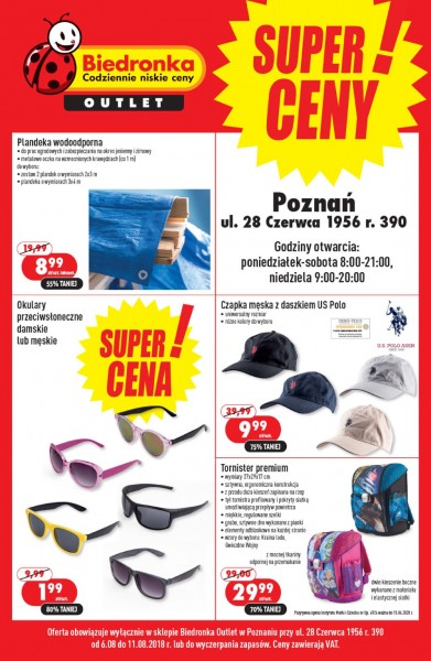 04a5b12ec1f2c3 Biedronka • Outlet od 6.08 | sierpnia