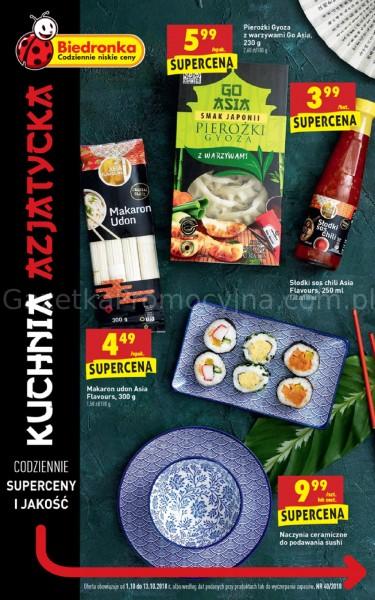 Biedronka Kuchnia Azjatycka Od 110 Października